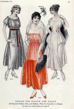 November 1915 Fashion | Flickr - Photo Sharing!