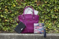Bold colors and fun patterns collide with our Rolling Jewell Wallet, Paris Crossbody, and Buzz Worthy Cafe Bag. www.mythirtyone.com/bethesmith