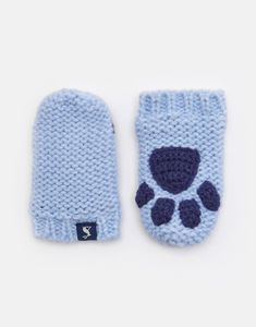 99a60198ce1 Paws Mittens. Blue MittensBaby Pom Pom HatJoules ...
