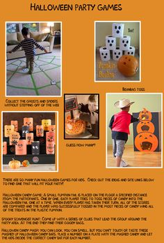 Creative games for Halloween parties at home or school. #HalloweenPartyGames @SignUpGenius  #PintoWin and #FallIntoEASY