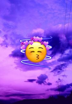 Emoji Wallpaper Iphone, Cute Wallpaper For Phone, Cute Wallpaper Backgrounds, Pretty Wallpapers, Galaxy Wallpaper, Angel Wallpaper, Mood Wallpaper, Aesthetic Pastel Wallpaper, Purple Emoji
