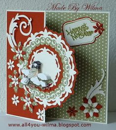 4 YOU: A little bird in the snow. Die Cut Christmas Cards, Company Christmas Cards, Retro Christmas, Xmas Cards, Handmade Christmas, 3d Cards, Folded Cards, Mixed Media Cards, Marianne Design