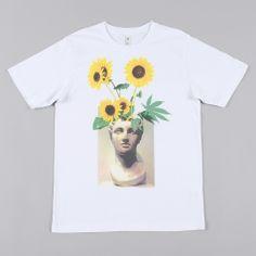 Perks & Mini PAM Arrangement T-Shirt - White
