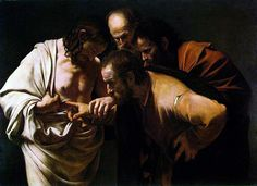 Caravaggio, Doubting Thomas (1602-1603)