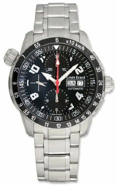 Louis Erard La Sportive Automatic Chronograph Steel Mens Sport Watch Calendar Day/Date 78420-AS-02BMA15 Louis Erard. $779.00. Save 74%!