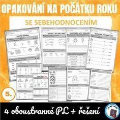 Testy z AJ se sebehodnocením na počátku 5. ročníku | Lesy Nápadů.cz Periodic Table, Periodic Table Chart, Periotic Table