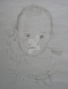 Portret III Danielka by linadi