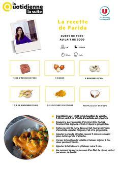 Toutes Les Recettes De Farida La Quotidienne : toutes, recettes, farida, quotidienne, Idées, RECETTES, FARIDA, Recettes, Cuisine,, Recette,, Cuisine