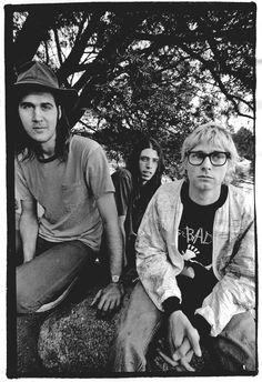 Nirvana by Steve Gullick in Stockholm, SE. June 30th, 1992.
