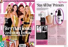 NYX HD Primer appeared in LOOK magazine in the Test Factor, 3 out of 5 stars.