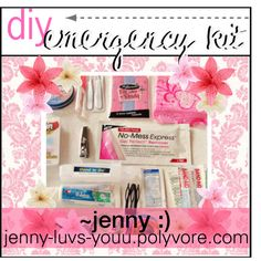 Diy Emergency Kit For Girls   Nail Polish Remover Pads, Small Nail File  Locker Emergency