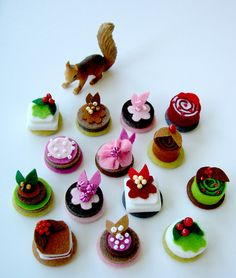 petite patisserie pins and buttons