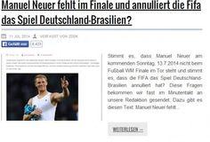 """""""Manuel Neuer fehlt im Finale"""" – wie Fake-Nachrichtenportale Traffic ziehen - Mehr Infos zum Thema auch unter http://vslink.de/internetmarketing"""