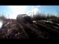 Chevrolet Niva по февральским дорогам в районе хутора Калинин - YouTube