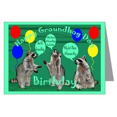 Happy groundhog day card greeting cards for the world pinterest m4hsunfo