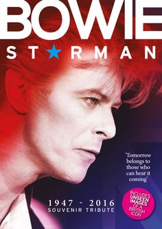 Bowie Starman magazine is the Daily Mirror's tribute to one of the world's most influential, exciting and brilliant musicians. David Bowie Starman, David Bowie Tribute, Images Of David Bowie, Ziggy Played Guitar, The Thin White Duke, Ziggy Stardust, Sound & Vision, Fleetwood Mac, Jimi Hendrix