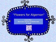 flowers for algernon journal entry