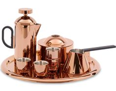 Get Tom Dixon Brew Cafetiere - Copper now at Coggles - the one stop shop for the sartorially minded shopper. Free UK & EU delivery when you spend Tom Dixon, Coffee Tray, Coffee Drinks, Coffee Maker, Coffee Club, Coffee Beans, Cafetiere Design, Toms, Espresso Cups Set