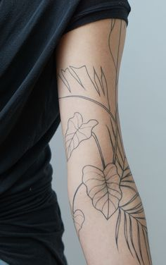 7 Of The Blissful Arm Tattoo Designs You Might Wish to Have This Year - Tattoos Foot Tattoos, Body Art Tattoos, Small Tattoos, Sleeve Tattoos, Tatoos, Arm Tattoos Nature, Simple Neck Tattoos, Buddha Tattoos, Piercings