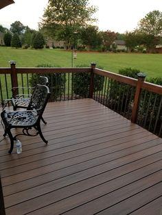 best 25 composite deck railing ideas on pinterest. Black Bedroom Furniture Sets. Home Design Ideas