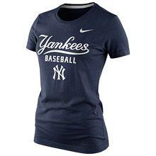 New York Yankees Women's Practice Tee 1.4 by Nike