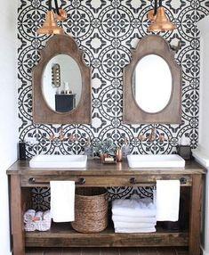 really like those mirrors.