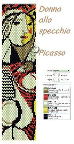 Donna allo specchio - Picasso