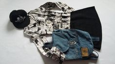Clasic denim CK backpack make your day! :)