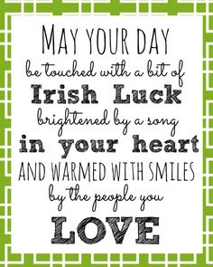 St. Patrick's Day Irish Blessings Quotes