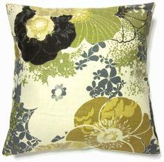 handmade chartreuse pillows - $30.00