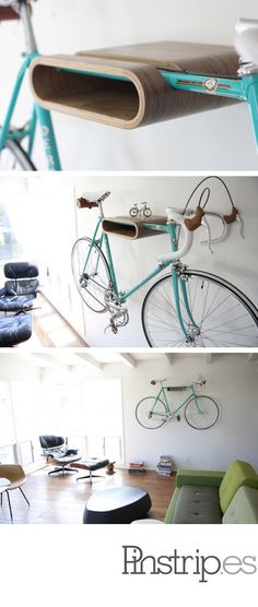 holds a book & your bike. and it's just awesome.