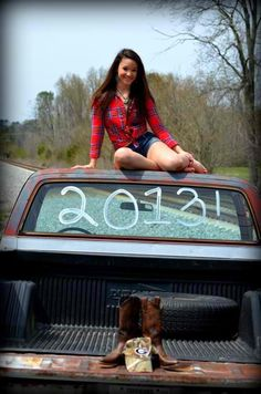 One of Alexis' senior pics.  She is my country girl.