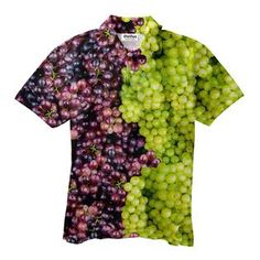 Mixed Grapes Short-Sleeve Button Down Shirt Button Shirts, Button Down Shirt, Polo Shirts, Make You Smile, Men's Polo, Make It Yourself, How To Make, Clothes, Sleeve