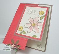 Image result for stampin up garden in bloom cards