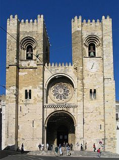 Se de Lisboa Frente - Романская архитектура — Википедия