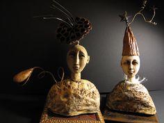 ☥ Figurative Ceramic Sculpture ☥  Lisa Renner