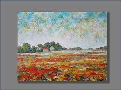 Original pintura al óleo pintura acrílico paisaje pintura óleo
