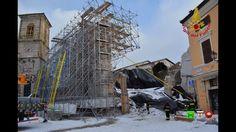 Sisma centro Italia - I soccorsi dei Vigili del Fuoco - 07/01 Neve a Nor...