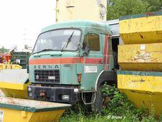 Berna ''Dörfliger AG'', w- Moser garbage body Trucks, Bern, Truck