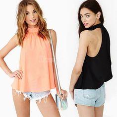 DRESSLINK HAUL 2014 New Elegant Sexy Lace Flower Tank Top Sexy Cami Sleeveless Casual Cotton T-Shirt