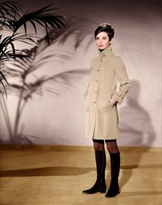 theswinginsixties:  Audrey Hepburn for 'Charade', 1963.