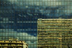 Reflection by Vagelis Poulis on Athens, Skyscraper, Reflection, Greece, Multi Story Building, Photo Wall, Island, Explore, City