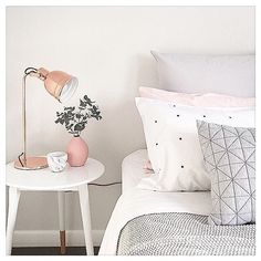 CREATURE OF HABIT Have you made your bed this morning? (No, this isn't your mother talking ) - Studies have found that a made bed lowers your level of stress - and sets you up for a more productive day! It just takes two minutes Coconuts! xox C&C : @pinterest