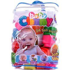 Clemmy puha építőkocka babáknak