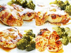 Clean Eating Dinner Idea – Honey Mustard Baked Chicken | Clean Eating Recipes #cleaneating #healthyrecipe