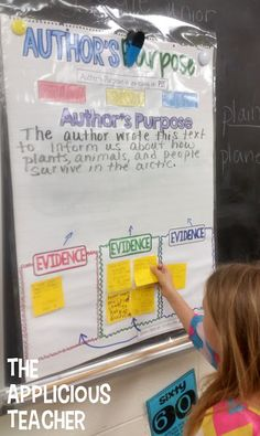 Author's purpose is soooo tricky! I like how this teacher scaffolded the lesson but kept the kids accountable for their learning.