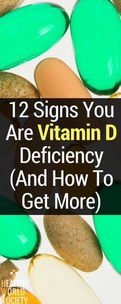 #vitamind #signs