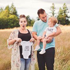 @Little Faces Apparel / @littlefacesapparel - Pregnancy announcement, baby…