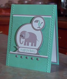 Zoo babies stampin up set