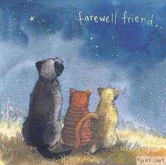 Fur friends grieve too!